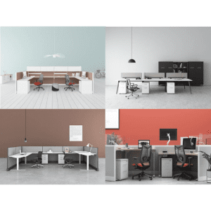 MODULAR OPEN BENCHING & OFFICE CUBICLE SYSTEM