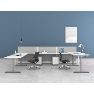 SIT AND STAND ADJUSTABLE HEIGHT DESK/TABLE
